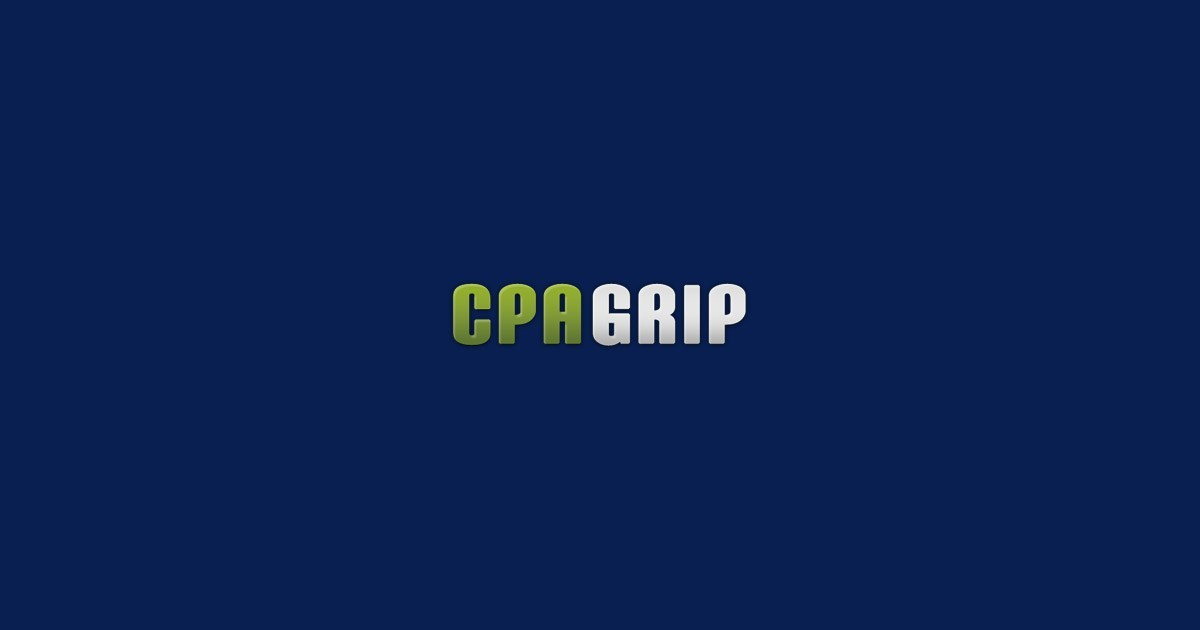 Cpagrip Affiliate Network Review - Scam or Legit, How to Sign Up