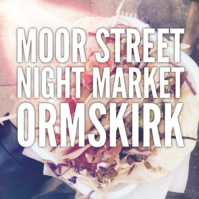 Review of the first Moor Street Night Market in Ormskirk #foodbloggers #lbloggers