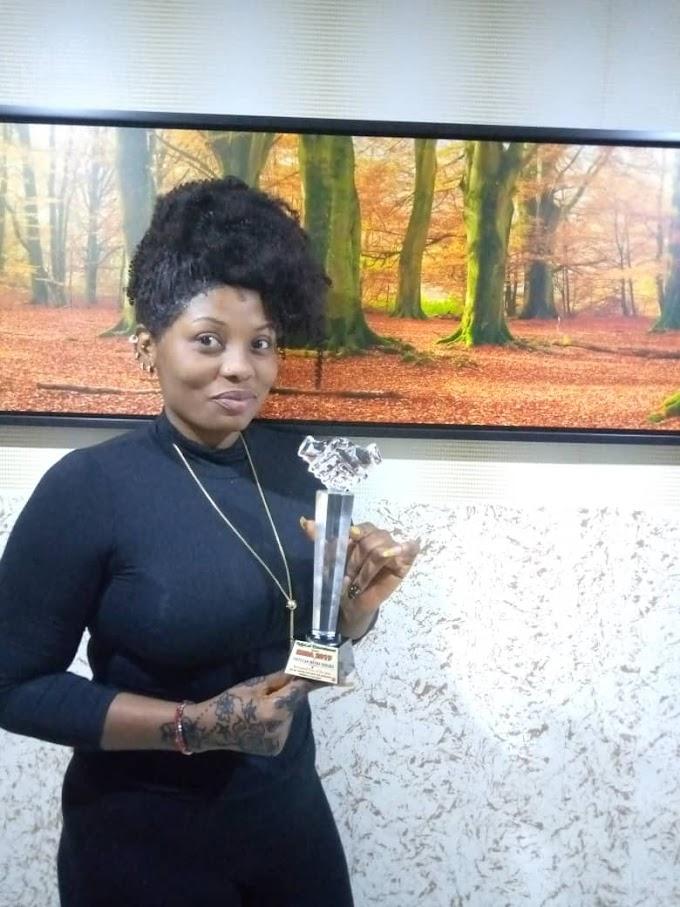 My Award was for the glory of God_Prittican Meena Yakubu