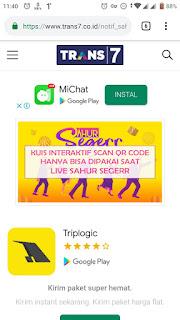 Cara Scan QR Code Sahur Seger