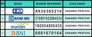 Info Nomor Rekening Asli Agen De Nature