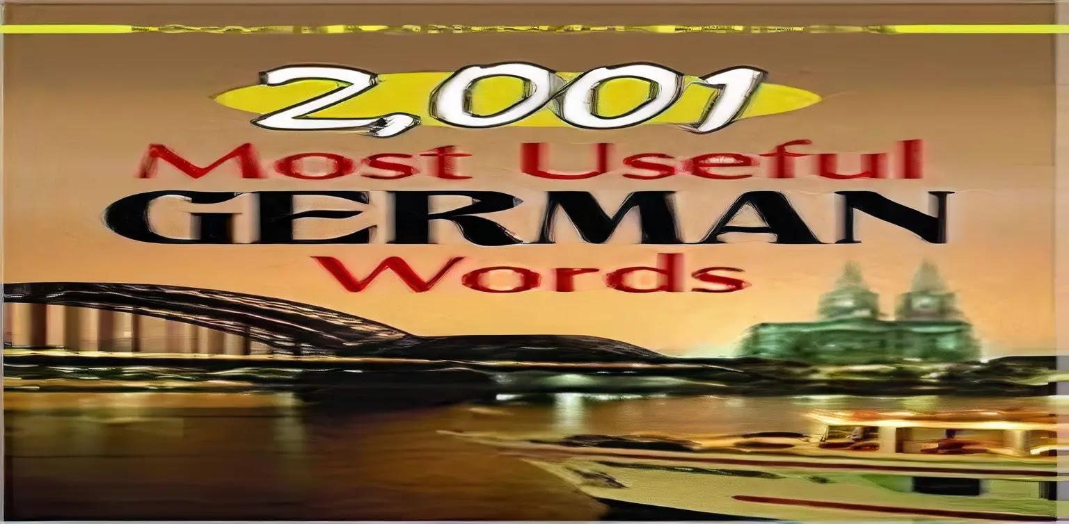 Free German Books: 2001 nützlichsten German Words