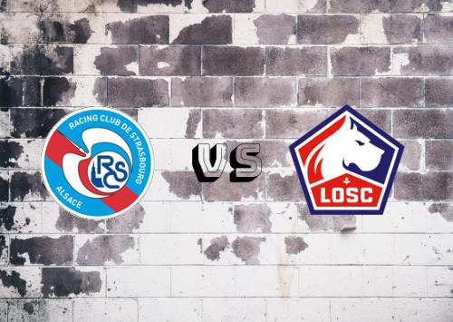 Estrasburgo vs Lille  Resumen