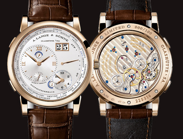 Introducing the New A. Lange & Söhne Lange 1 Time Zone Replica With Caliber L141.1