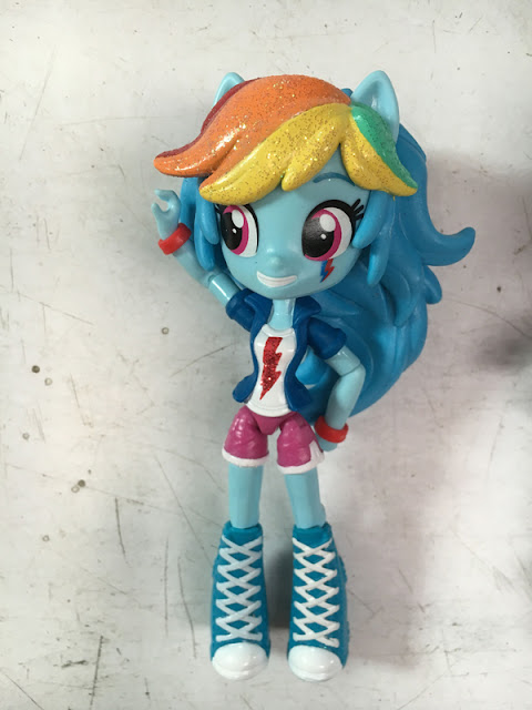 Equestria Girls Mini Glitter Rainbow Dash