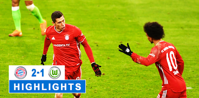Bayern München vs Wolfsburg – Highlights