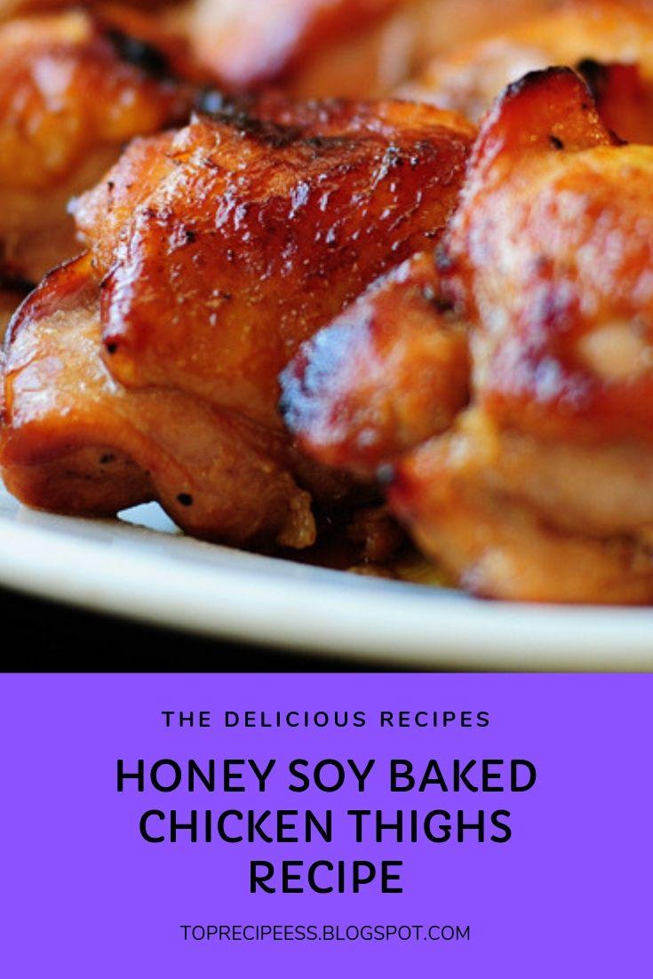 HONEY SOY BAKED CHICKEN THIGHS RECIPE | chicken animal honey garlic chicken, greek chicken, chicken stirfry, roasted chicken, chicken backyard, chicken curry, chicken tetrazzini, Tuscan chicken, chicken cordonbleu, balsamic chicken, pesto chicken, breaded chicken, sheet pan chicken, keto chicken, chicken strips, chicken drumsticks, chicken broccoli, chicken mushroom, chicken breast recipes, chicken drawing, chicken illustration, chicken art, chicken bacon, creamy chicken, chicken sandwich, chicken videos, chicken cartoon, chicken nuggets, Italian chicken, skillet chicken, Mexican chicken, chicken noodle, pulled chicken, chicken photography, chickenspinach, chickenwraps, chickenstew, chickenlogo, chicken aproducts, chicken alaking, chicken acomfort foods, chicken arice, chicken ameals, chicken alowcarb, chicken agluten free, chickenarecipe, chickenadishes, chickenahealthy #buffalochicken #chickencoop #chickenanimal #honeygarlicchicken #greekchicken #chickenstirfry #roastedchicken #chickenbackyard #chickencurry #chickentetrazzini #tuscanchicken #chickencordonbleu #balsamicchicken #pestochicken #breadedchicken #sheetpanchicken #ketochicken #chickenstrips #chickendrumsticks #chickenbroccoli #chickenmushroom #chickenbreastrecipes #chickendrawing #chickenillustration #chickenart #chickenbacon #creamychicken #chickensandwich #chickenvideos #chickencartoon #chickennuggets #italianchicken #skilletchicken #mexicanchicken #chickennoodle #pulledchicken #chickenphotography #chickenspinach #chickenwraps #chickenstew #chickenlogo #chickenaproducts