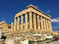 Hike to the Acropolis in Athens, Greece