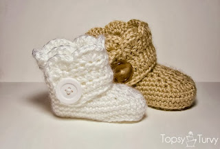 e6d184bf845 http://www.imtopsyturvy.com/crochet-wrap-button-infant-boots-girls-boys/