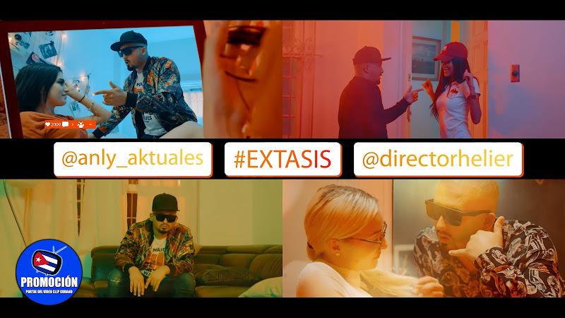 Anly - ¨Éxtasis¨ - Videoclip - Director: Helier Muñoz. Portal Del Vídeo Clip Cubano. Música cubana. Reguetón. Cuba.