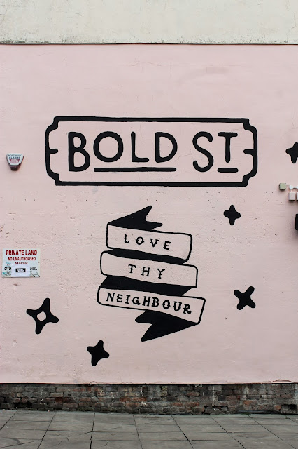 Love Thy Neighbour Bold Street Liverpool