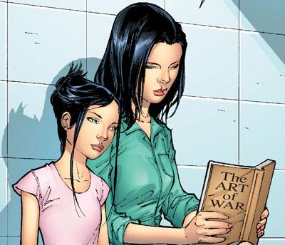 X-23 dan Sarah Kinney