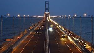 Hore! Pemerintah Gratiskan Jembatan Suramadu