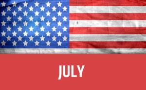 July usa calendar