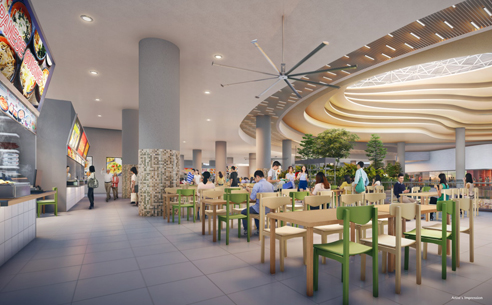 Sengkang Grand Residences - Hawker Centre