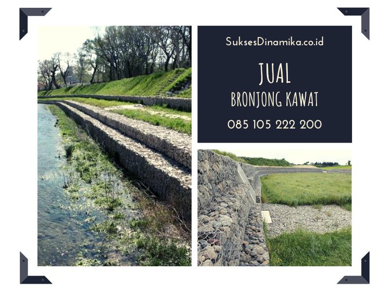 Pengadaan Bronjong Kawat Kab.Pasir Kalimantan Timur,bronjong kawat