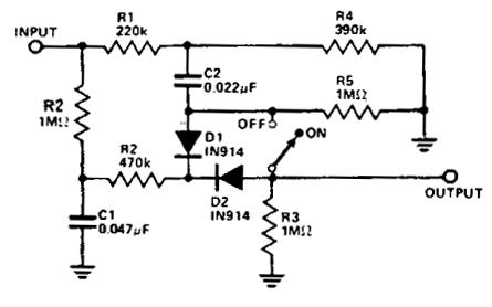 Simple Noise limiter Circuit Diagram | Electronic Circuit Diagrams