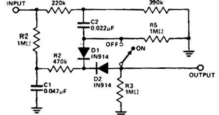 circuit diagram: Simple Noise limiter Circuit Diagram
