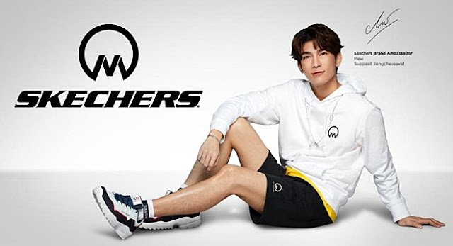 SKECHERS, Mew Suppasit, Mew Collection, The Moon is Beautiful, Sneakers, Fitness, Shopee, Online Shopping, Fashion,