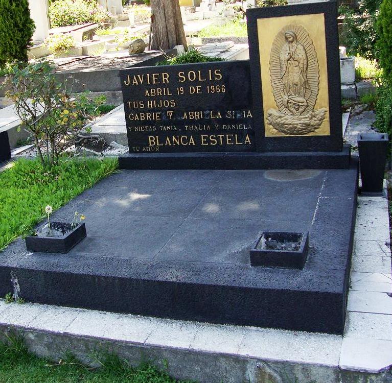 Tumba javier solis tumbas de famosos for Aeiou el jardin de clarilu mp3