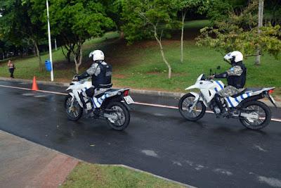 Salvador (BA) Parque da Cidade recebe policiamento motorizado da Guarda Civil Municipal