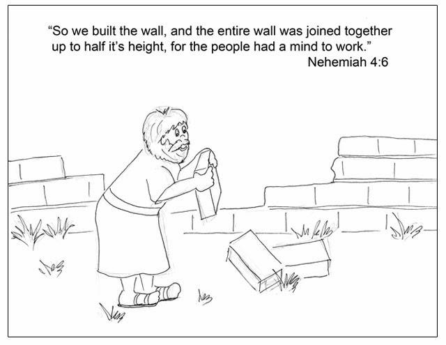 jerusalum wall coloring pages - photo#24