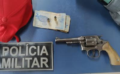 Polícia apreende arma de fogo em Buriti