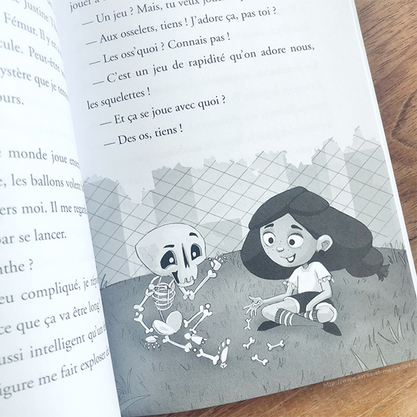 Roman jeunesse : La Cité des Squelettes