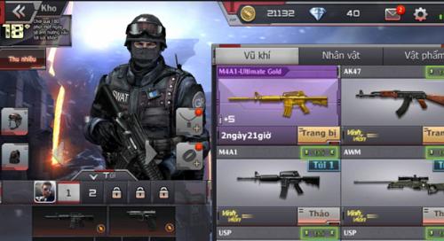 Người chơi dành thời gian sẵn sàng túi đồ thật kỹ lưỡng để giúp đỡ quá trình sẵn sàng trước mỗi cuộc chiến đc diễn ra nhanh lẹ hơn