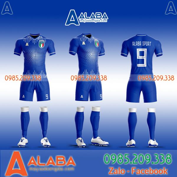 áo đấu đội tuyển Ý màu xanh
