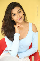 Anisha Ambrose Latest Pos Skirt at Fashion Designer Son of Ladies Tailor Movie Interview .COM 0940.JPG