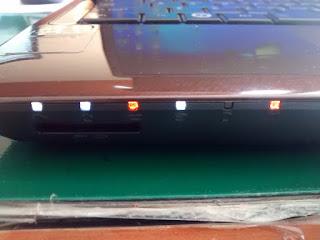 cara memperbaiki laptop lampu indiktor menyala