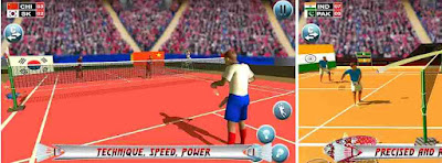 Game bulu tangkis Badminton Star