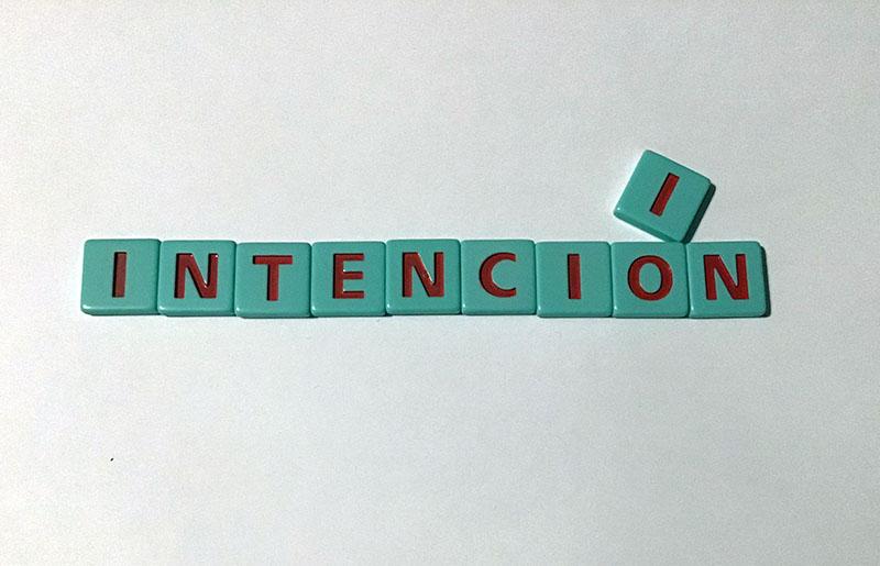 intención de un texto