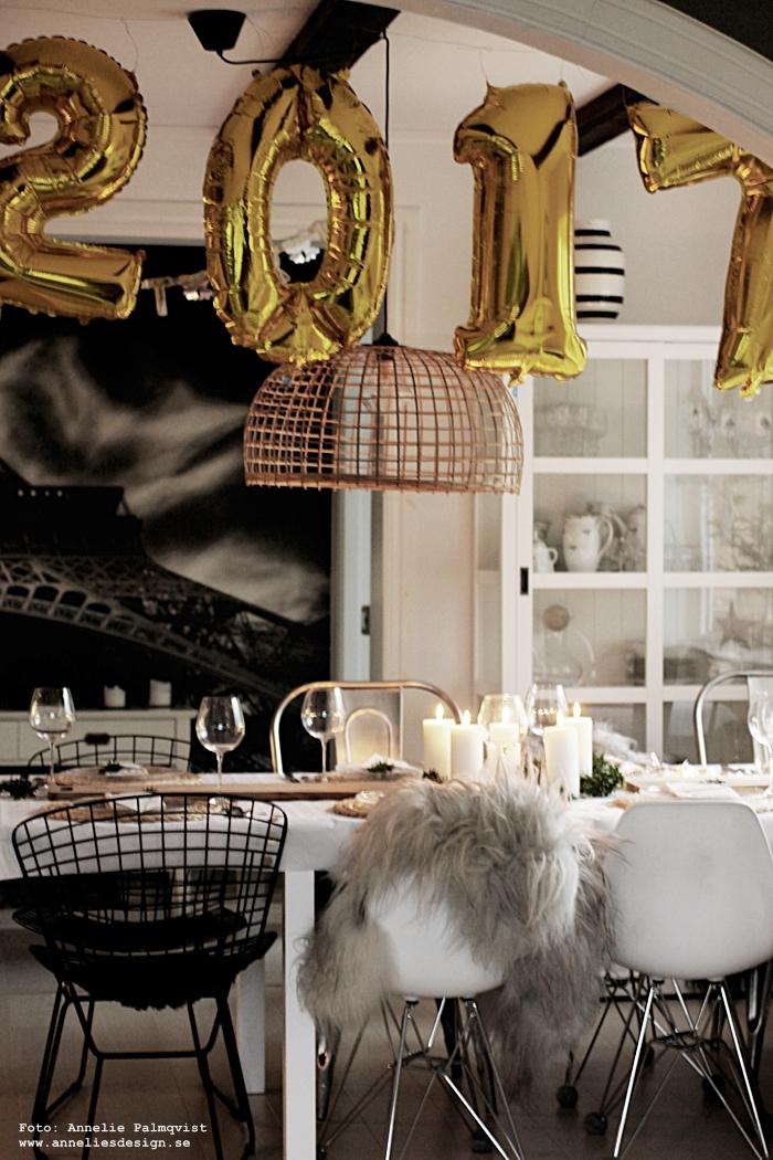 annelies design, webbutik, nyår, nyårsdukning, 2016, dukning, bordsdukning, nytt år, ballonger, sifferballonger, siffror, i taket, helium, webbutik, webshop, nätbutik, nätbutiker, nettbutikk, nettbutikker, fest, party, dekoration, idéer, tips, inspiration,