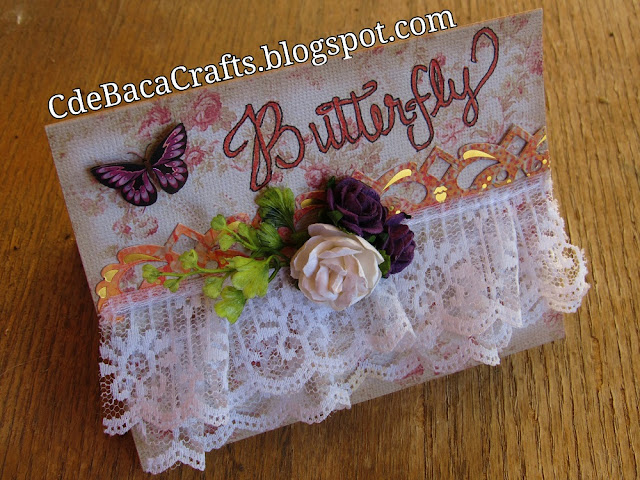 Handmade Card Examples by CdeBaca Crafts Blogspot.