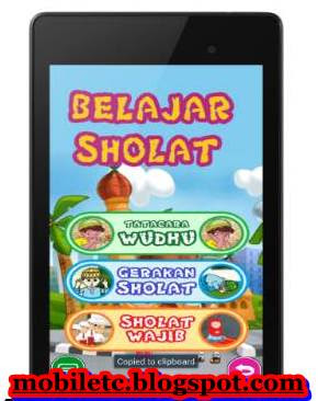 Download Aplikasi Ayo Belajar Sholat