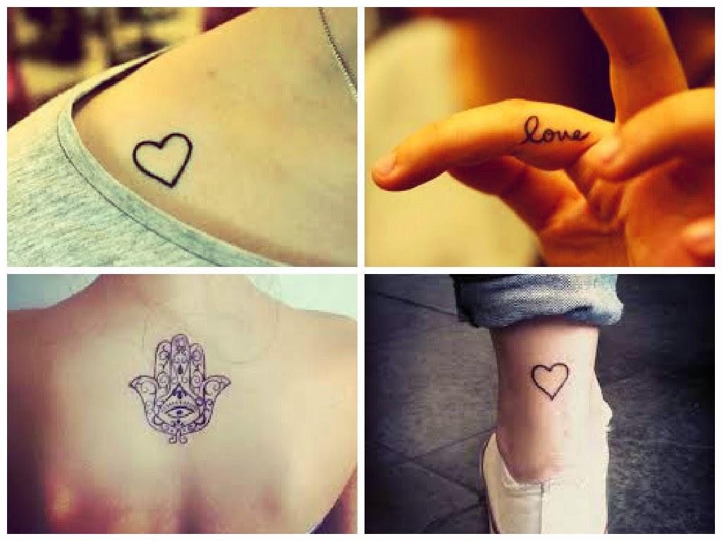 29188ad2f0 Eu acho lindo tatuagem (dependendo da tatuagem é claro) ainda mais daquelas  bem delicadas. Se você vai fazer sua primeira tatuagem ou quer fazer uma  pequena ...