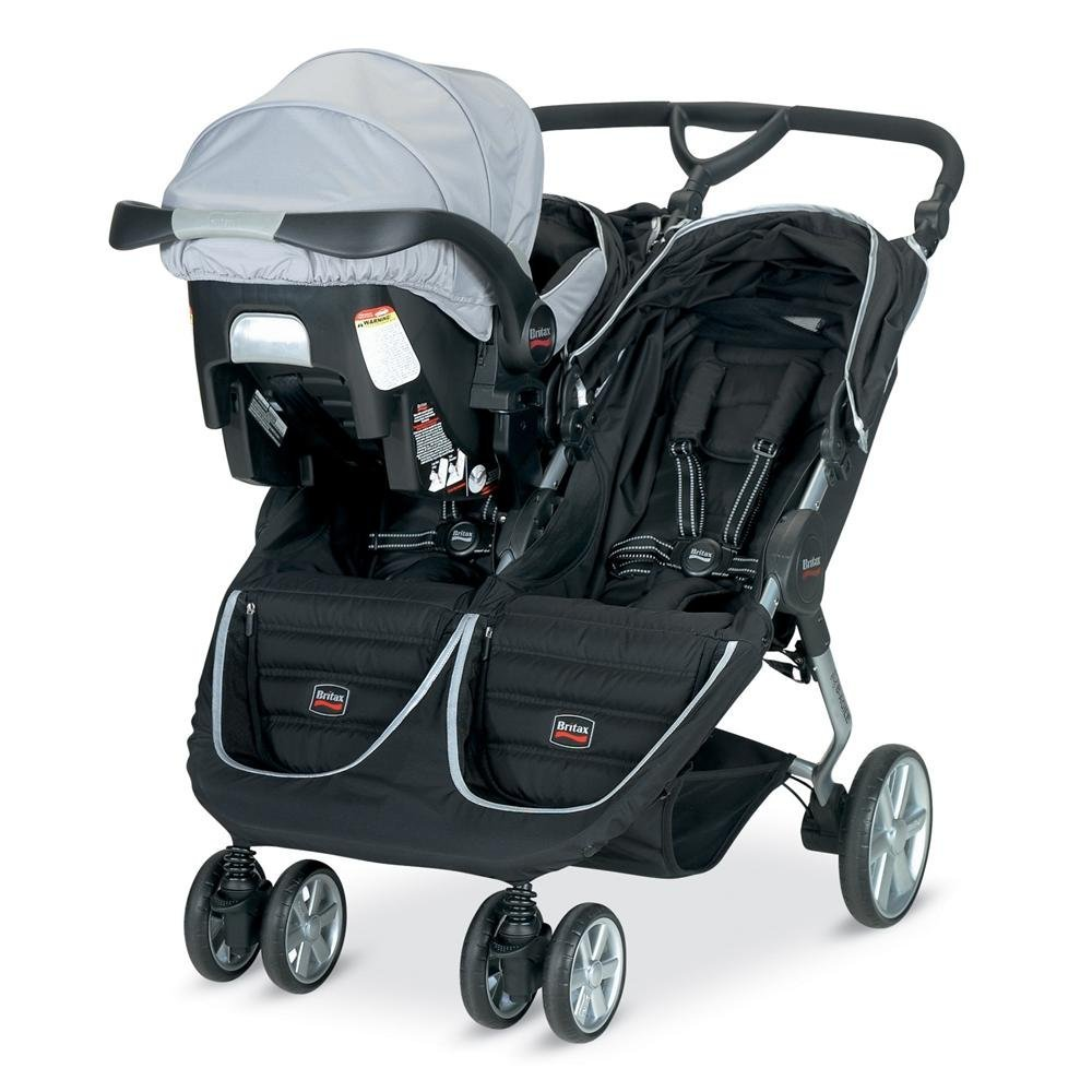 Britax Car Seat With Stroller Britax B Agile Double Stroller Review Thrifty Nifty Mommy