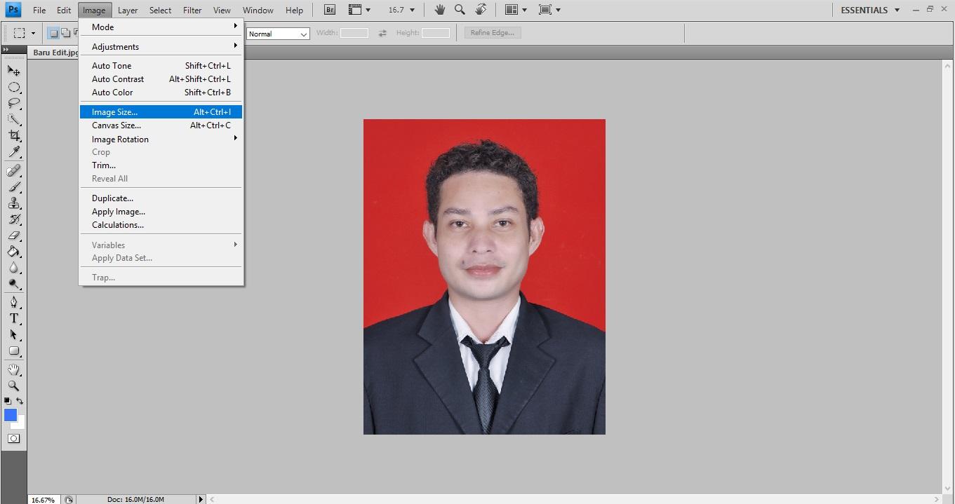 Cara Mudah Menentukan Ukuran Pas Foto di Photoshop Dalam 1 Menit ...
