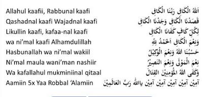 Lirik Sholawat Allahul kafi Robbunal Kafi dan Artinya