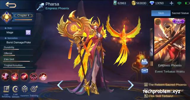 Skin Epic Pharsa Empress Phoenix