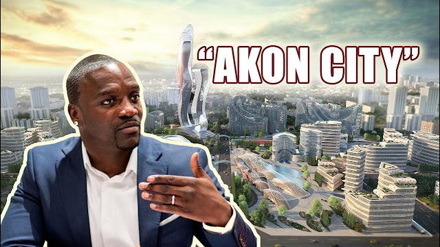 Akon finalizes agreement to start building his 'Akon City' in Senegal
