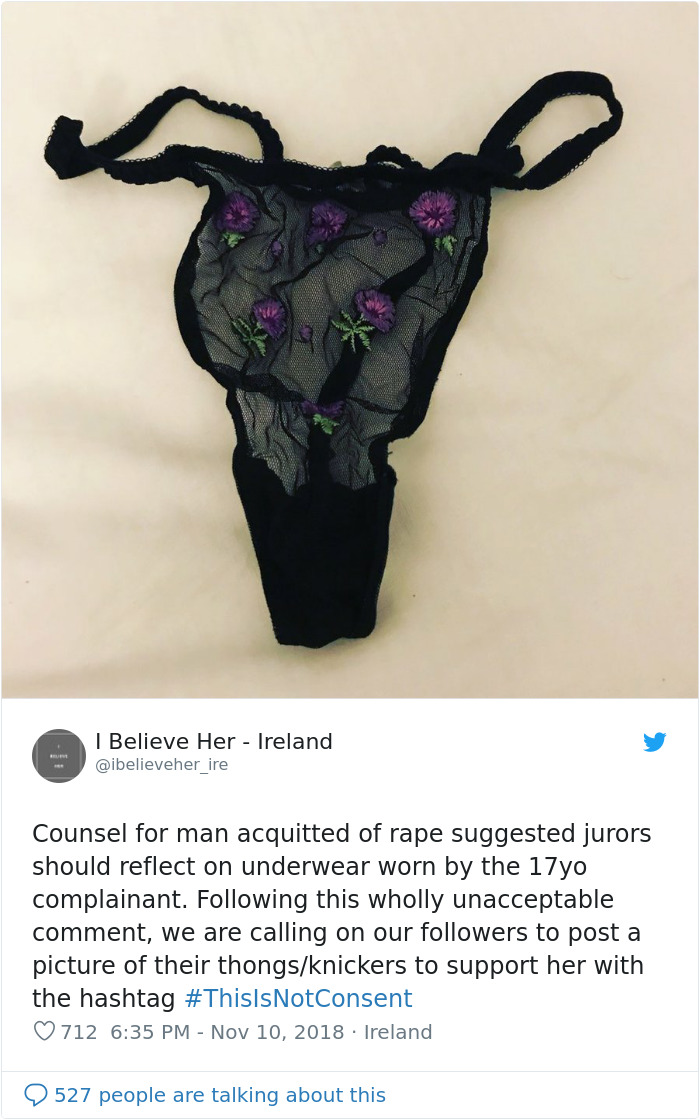 be72eb797c5413 These protests highlight what really should be obvious by now: there is no  such thing as an item of clothing that implies consent, no matter how  'cute' or ' ...