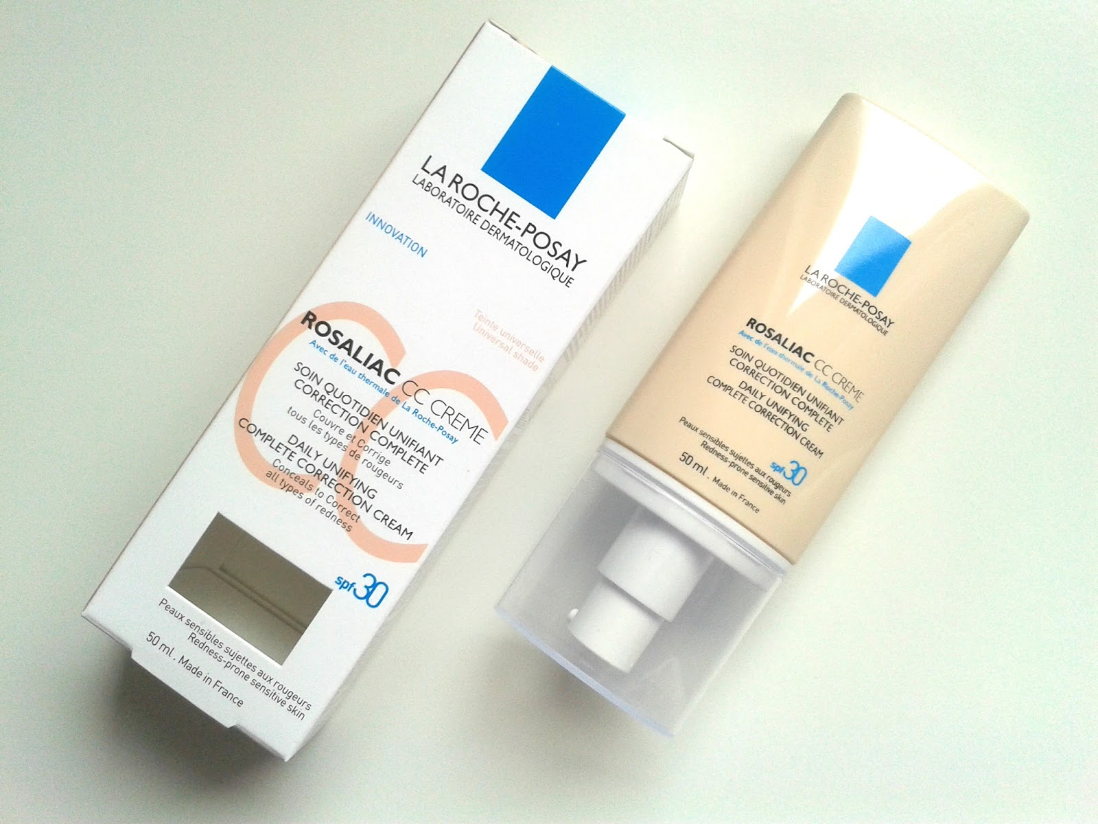 La Roche-Posay Rosaliac CC Cream Creme Review Complete Correction