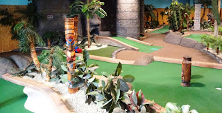 We haven't made it to the Cardiff course yet, but have played a number of the other high quality Adventure Golf courses designed and built by the same people who created Treetop Adventure Golf - this location is Adventure Island Mini Golf at Star City in Birmingham