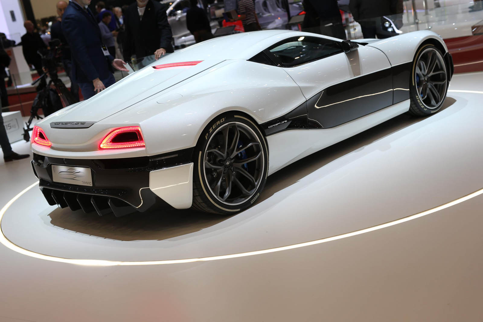 Rimac Upgrades Concept One Electric Supercar To Take On