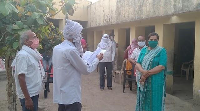 क्वॉरेंटाइन सेंटरों का उप जिला कलेक्टर सुमन देवी ने जायजा लिया
