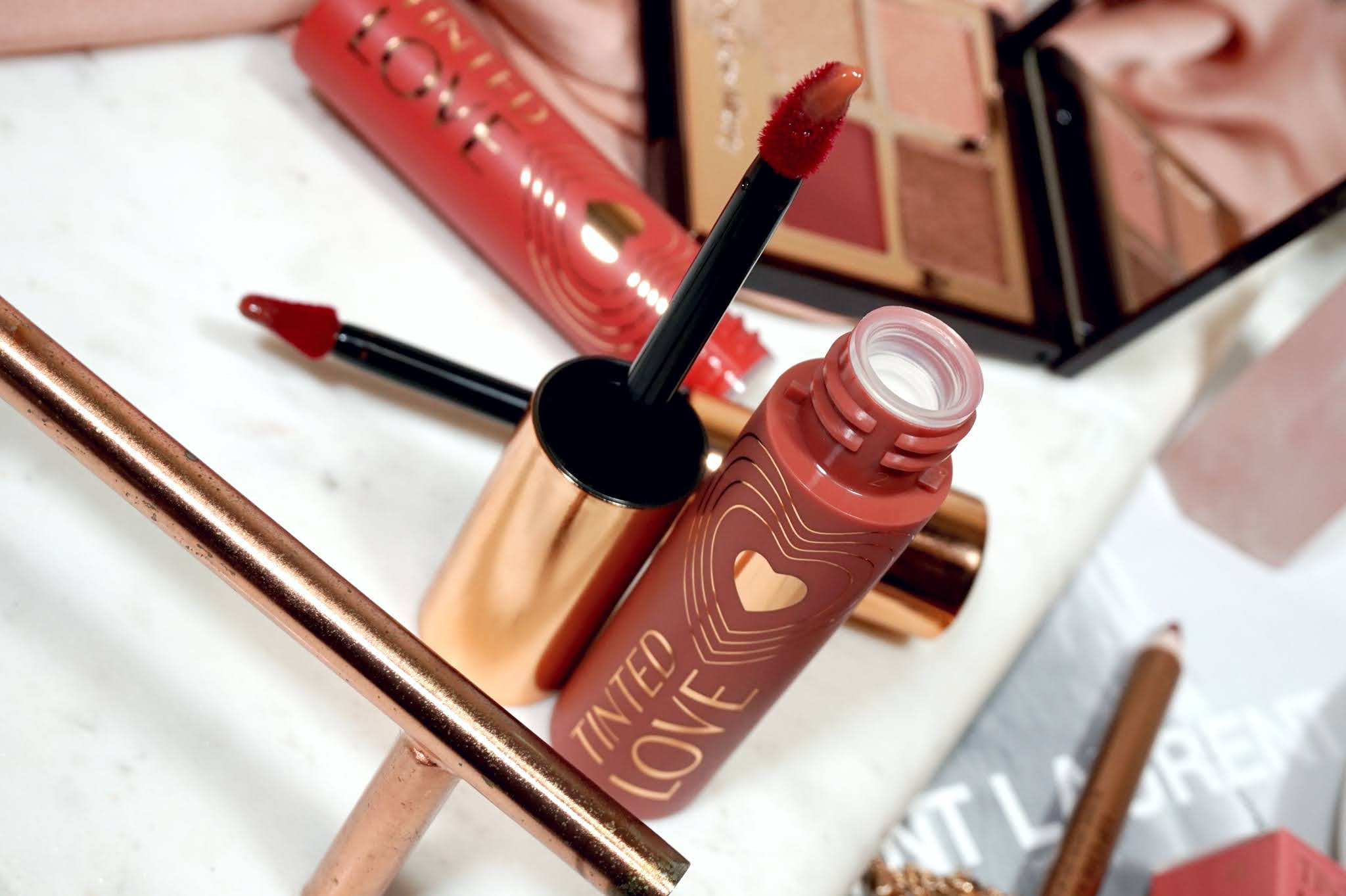 Charlotte Tilbury Tinted Love Lip & Cheek Tint Review and Swatches