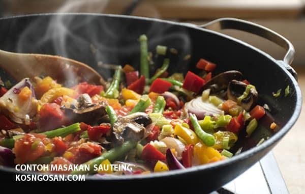 contoh masakan sauteing